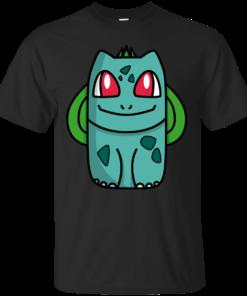 001 Bulbasaur pokemon Cotton T-Shirt