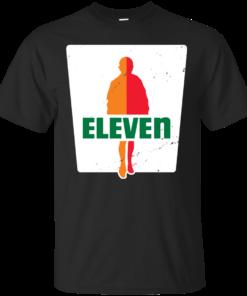 0Eleven stranger things Cotton T-Shirt