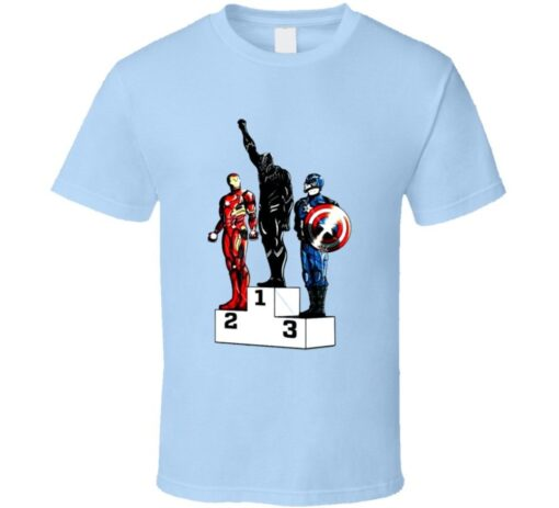 1968 Olympic Spoof Black Panther Movie King Of Wakanda Cool T Shirt