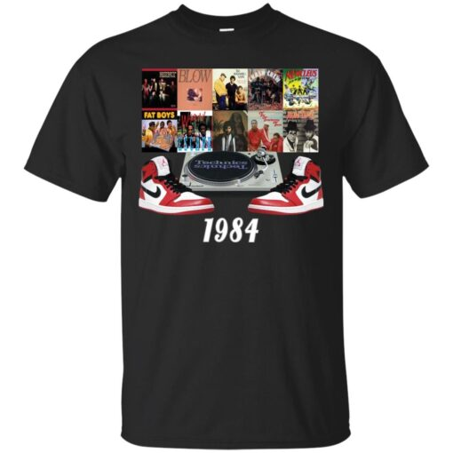1984 Hip Hop Jordans Cotton T-Shirt