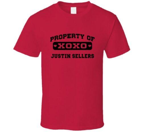 2014 Justin Ownership Sellers Cleveland Baseball T Shirt