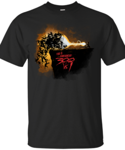 300vs1 kamehameha Cotton T-Shirt