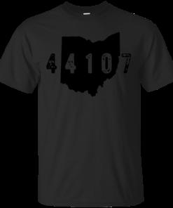 44107 Lakewood Ohio ohio zip code 44107 Cotton T-Shirt