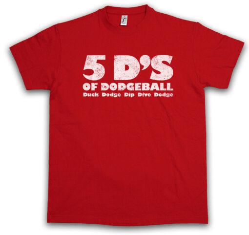 5 D'S Of Dodgeball Duck Dodge Balloon Fun Scuba Dive Gym T Shirt