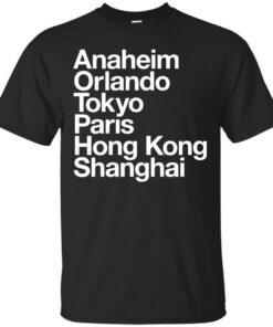 6 Magical Cities Cotton T-Shirt