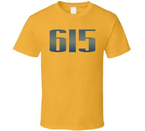 615 Nashville Predetors Hockey Fan T Shirt