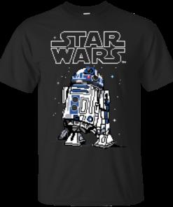 8Bit R2D2 Cotton T-Shirt
