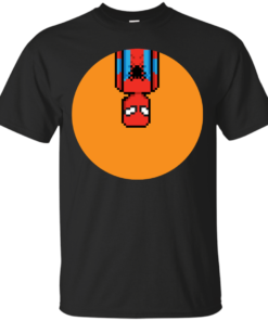 8Bit Spiderman guardians of the galaxy Cotton T-Shirt