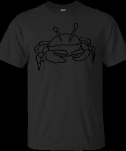 A Cool Crab Cotton T-Shirt
