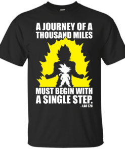 A Journey of A Thousand Miles Goku mma Cotton T-Shirt