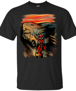 A merc with no tacos marvel Cotton T-Shirt