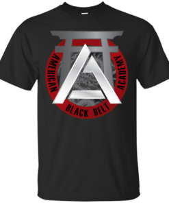 AMERICAN BLACK BELT ACADEMY LOGO Cotton T-Shirt