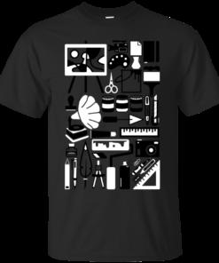 ART COLLAGE Cotton T-Shirt