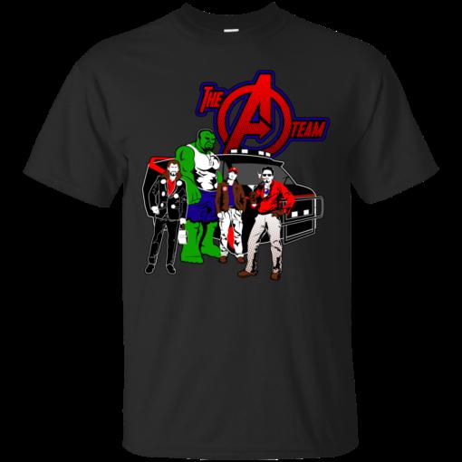 ATeam steve rogers Cotton T-Shirt