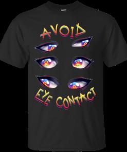 AVOID EYE CONTACT Cotton T-Shirt