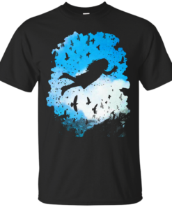 Above the Clouds trees Cotton T-Shirt