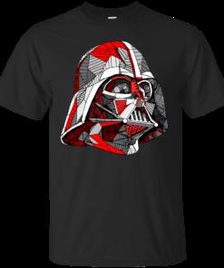 Abstract Vader Cotton T-Shirt