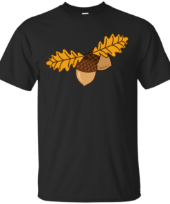 Acorns digital Cotton T-Shirt