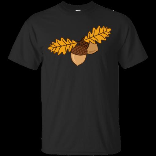 Acorns digital Cotton T-Shirt