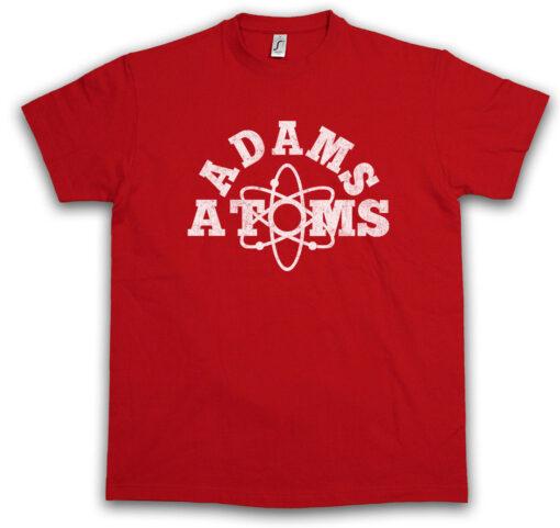 Adams Atoms Tee Revenge Sign Logo University Team Nerds Symbol T Shirt