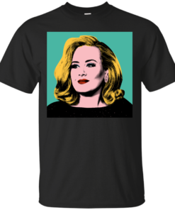 Adele Pop Art 25 Cotton T-Shirt
