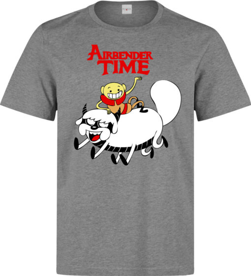 Adventure Time And Gray Camisole Top Avatar The Last Airbender Aang Men Arts T Shirt