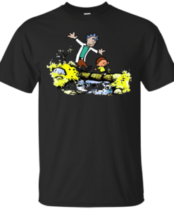 Adventures of Rick Morty Cotton T-Shirt
