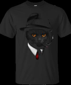 Agent Cat Cotton T-Shirt