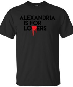 Alexandria is for Lovers Cotton T-Shirt