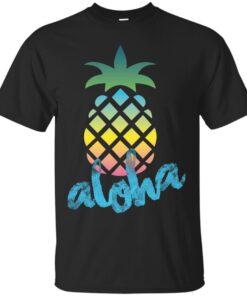 Aloha Pineapple Cotton T-Shirt