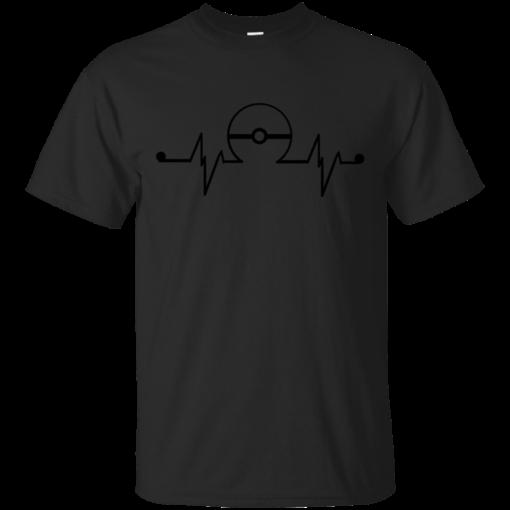 Always in my heart pokemon Cotton T-Shirt
