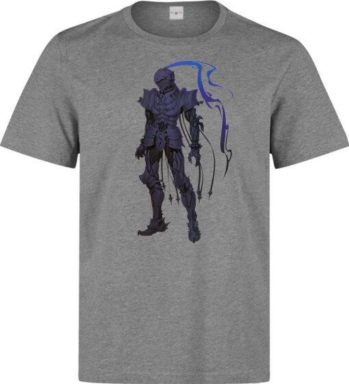 Anime Zero But Men Berserker (Woman Available) Character Gray T Shirt