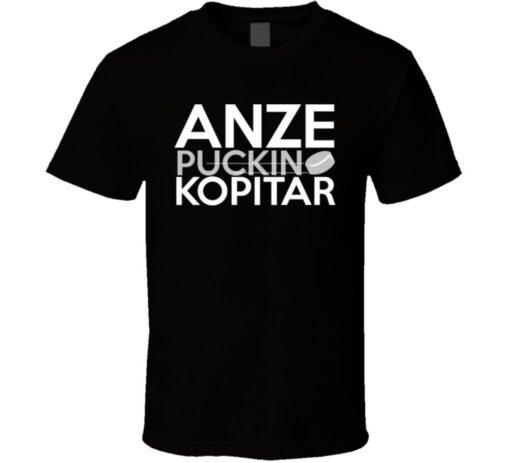 Anze Kopitar Hockey Player T Shirt