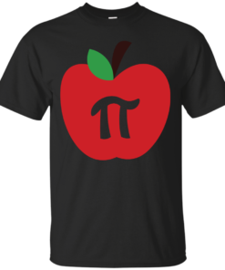Apple Pi apple Cotton T-Shirt