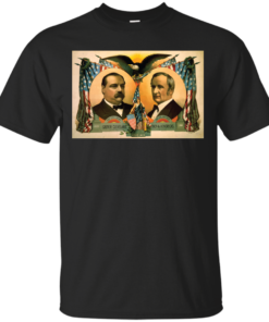 Artist Posters 0144 For president Grover Cleveland of New York For vice president Tho A Hendricks of Indiana SS Frizzell vintage Cotton T-Shirt