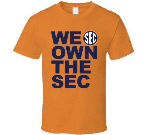Auburn Football Fields Sec T T Shirt
