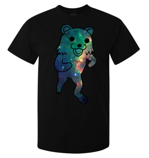 (Available For Women) Bear Cosmic Black Internet Meme Best Art Memes Men T Shirt