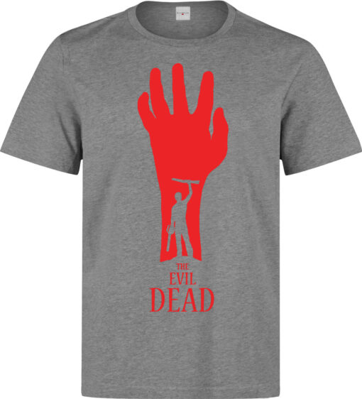 (Available Woman) Top Quality Gray Evil Horror Film Dead Men T Shirt