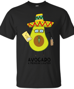 Avocado A mexican lawyer avocado Cotton T-Shirt