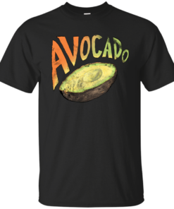 Avocado Grunge Edition groceries Cotton T-Shirt