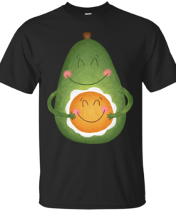 Avocado and Egg avocado Cotton T-Shirt