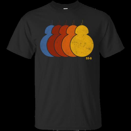 BB8 Rainbow Cotton T-Shirt