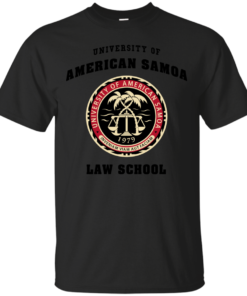 BCS University of American Samoa Law School Cotton T-Shirt