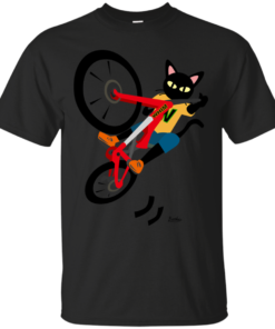 Bike Action Cotton T-Shirt