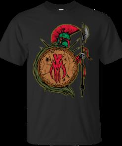 BOBA FETT SPARTAN Cotton T-Shirt