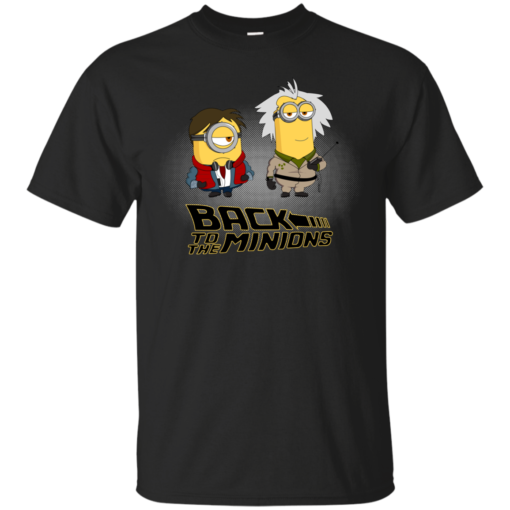 Back to the Minions pop culture Cotton T-Shirt