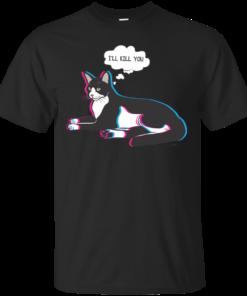 Bad cat Cotton T-Shirt