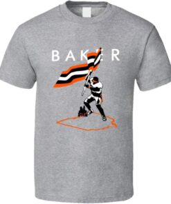 Baker Gift Fan Flag Football Mayfield Plant T Shirt