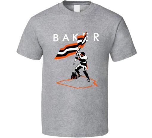 Baker Gift Fan Flag Football Mayfield Plant T Shirt