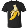 Banana Cat banana Cotton T-Shirt